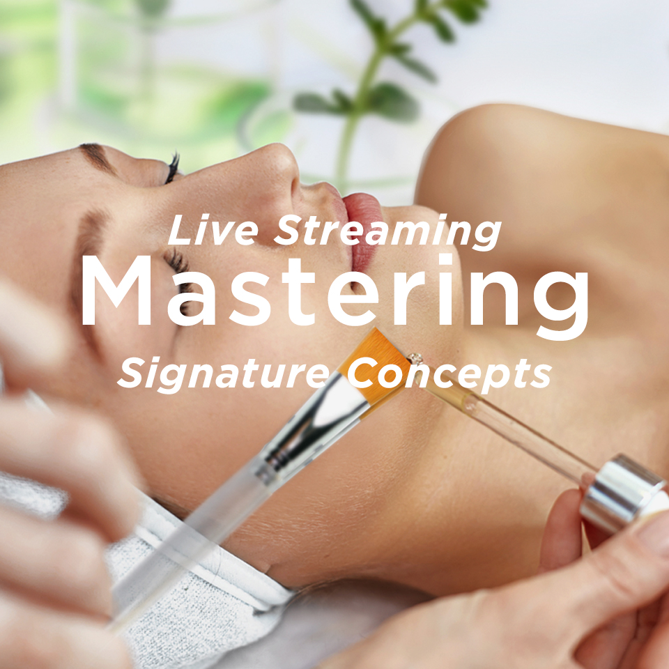 Mastering Signature Concepts Live Stream Registration